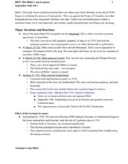 HIST296 Lecture Notes - Lecture 2: Munich Agreement, Nazism, Appeasement