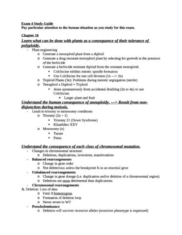 biology 110 study guide for final exam bio 110 oneclass rh oneclass com Modern Biology High School Biology Grade 9