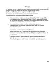 PHIL 232 Study Guide - Quiz Guide: Kleptomania, Omnipotence, Compatibilism