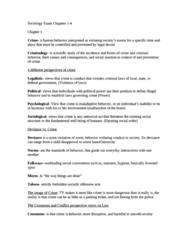 SOC 001 Study Guide - Final Guide: Resisting Arrest, Refractive Index, Mens Rea