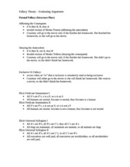 PHIL 180 Study Guide - Genetic Fallacy, Subjectivism, Logical Reasoning