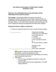 Study Guide (Coontz) (got best grade in class)