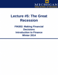 FIN 302 Study Guide - Ross School Of Business, Jamie Dimon, Investment Banking