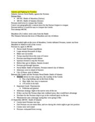 HIST 0864 Study Guide - Greco-Persian Wars, Trireme, Piraeus
