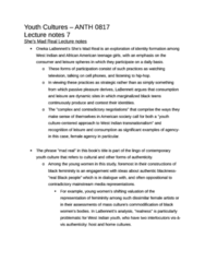 ANTH 0817 Study Guide - Sexually Transmitted Infection, Transnationalism