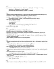 CHM-1046 Study Guide - Electrolyte, Dynamic Equilibrium, Freezing-Point Depression
