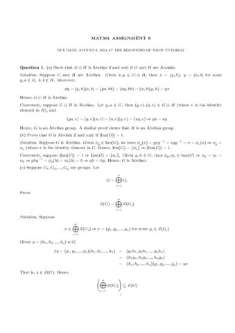 mat301-assignment6sol-pdf