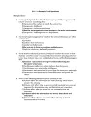 PSY220H5 Study Guide - Midterm Guide: Social Cognition, Psy, Developmental Psychology