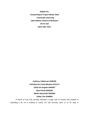 acco310 group project template docx oneclass