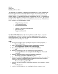 IST 233 Study Guide - Final Guide: Vint Cerf, Wireless Access Point, Ethernet Frame