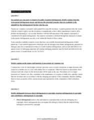 CCT206H5 Study Guide - Final Guide: Patent Infringement, Flea Market, Michael Baigent