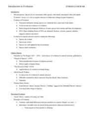 PSYC 208 Study Guide - Darwinism, German Shepherd, Mustard Plant