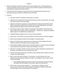 CRIM 241 Lecture Notes - Lecture 5: Restorative Justice, Problem Solving, Suspended Sentence