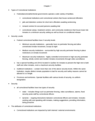 CRIM 241 Lecture Notes - Lecture 6: Regional Reception Centre, Security Interest, Fetus
