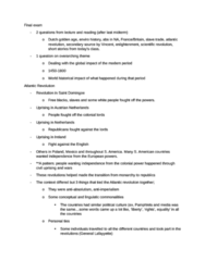 HIST111 Study Guide - Final Guide: Presidential System, Secondary Source, Constitution Of France