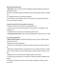 BUS 343 Study Guide - Crowdsourcing, Doritos, Threadless