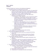 ECON 261 Lecture Notes - Lecture 17: Whistleblower, Fide, Occupational Segregation