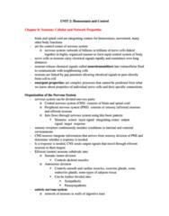 BIOL273 Study Guide - Unit, Axon Hillock, Resting Potential