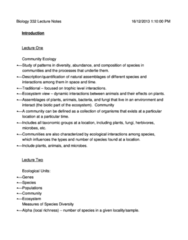 Course Note (detailed notes)