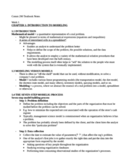 COMM 290 Study Guide - Prostaglandin E1, Statistical Inference, Perfect Information