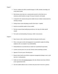 BUS 272 Study Guide - Problem Solving, Impression Management