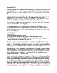 HIST 208 Study Guide - Money Trees, Riderless Horse, Arhat