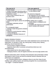 BUS 272 Study Guide - Quiz Guide: Job Satisfaction, Job Performance