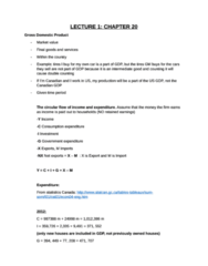 Economics 1022A/B Study Guide - Real Interest Rate, Loanable Funds, Frictional Unemployment