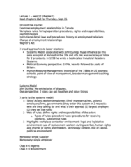 ECON 261 Study Guide - Flowchart, Multi-Party System, Monopsony