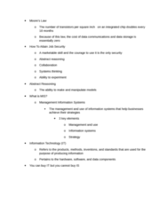 ISA 235 Chapter Notes - Chapter 1: Information System, Management Information System, Systems Theory