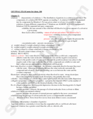 CHEM 100 Study Guide - Final Guide: Null Character, European Credit Transfer And Accumulation System, Hemolysis