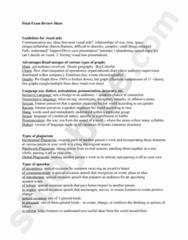 COMM 1100 Study Guide - Final Guide: Pathos, Proxemics, Nonverbal Communication