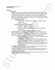 AGR 3303 Study Guide - Final Guide: Start Codon, Untranslated Region, Tata Box