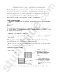 EC 420 Study Guide - Utility, Iunit, Mue