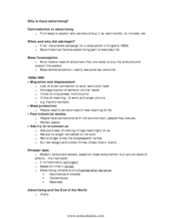 CCT316H5 Study Guide - Alcohol Advertising, Green Giant, Trans Fat