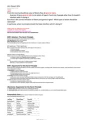 PHL 302 Study Guide - Midterm Guide: Jaywalking, Value Pluralism, Efficient-Market Hypothesis