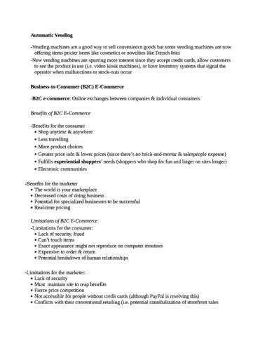 b2c-e-commerce-swot-full-notes-