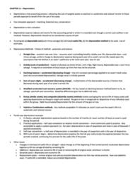 ACG 3113 Study Guide - Macrs, Cash Flow, Ddb Worldwide