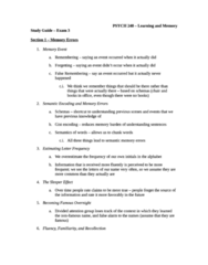 PSYC 248 Study Guide - Midterm Guide: Confidence Interval, Suggestibility, Dry Cleaning