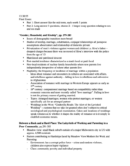 SOC 3306 Study Guide - Midterm Guide: Demographic Transition, Matrilocal Residence, Psychological Evaluation