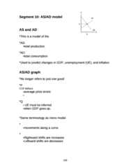 ECO 1000 Lecture Notes - Aggregate Demand, Great Depression, Aggregate Supply