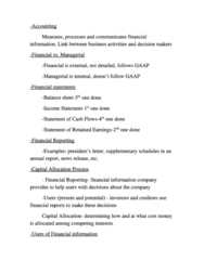 ACG 3103 Lecture Notes - Financial Statement