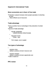 ECO 1000 Lecture Notes - List Of John Deere Tractors, Xm Satellite Radio, Comparative Advantage