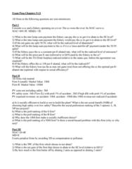 ECN 511 Quiz: Ch 9-12 PP Final Exam Prep