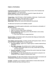 PLSC 111 Study Guide - Final Guide: Signing Statement, Executive Privilege, Fasttrack