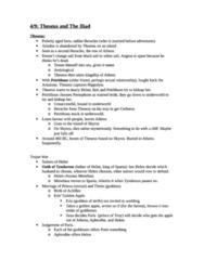 CLCV 205 Study Guide - Quiz Guide: Cypria, Iphigenia, Nostoi