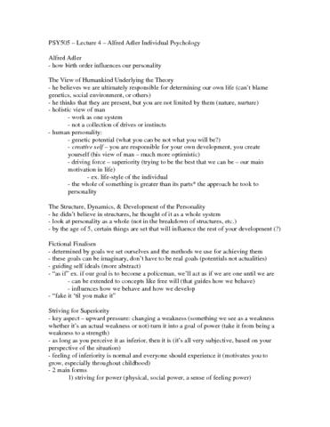 psy505-lecture-4-alfred-adler-karen-horney-docx