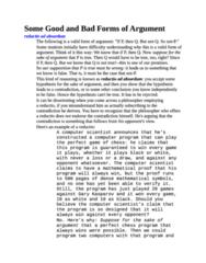 PHIL-UA 102 Study Guide - Midterm Guide: Garry Kasparov, Agnosticism, Quran