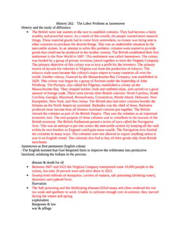 the labor problem at jamestown, 1607-18 by edmund s. morgan Edmund s morgan the labor problem at jamestown, 1607-18 american historical review lxxvi (1971) 595-611 0305-7488/79/040365 + 26 $0200/o @ 1979 academic press inc (london) ltd.