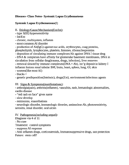 BIOL 458 Study Guide - Quiz Guide: Systemic Lupus Erythematosus, Council Of Australian Governments, Arthralgia